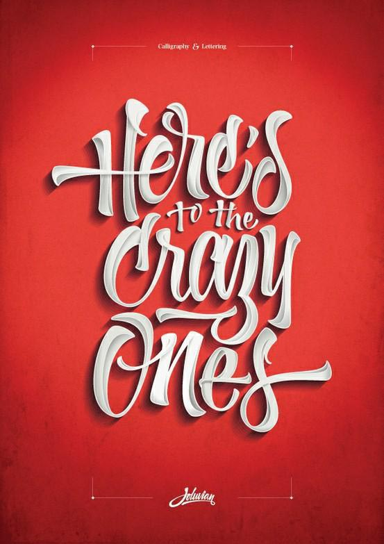Typography Inspirations | Thecreativecat A World Of Flyer